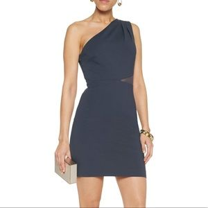 Halston Heritage One-Shoulder Dress